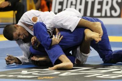【写真】JTは今年の柔術世界大会でも準優勝している真のトップ柔術家。やや体格差はあるか……(C)MMAPLANET