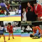 【Sambo】2日目、男女で表彰台!! 濱田が金、黒木&荒木が銅メダル獲得
