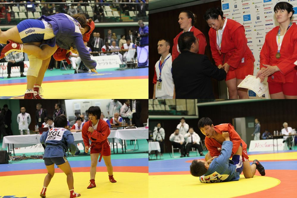 Sambo World Championship 2014 Day02