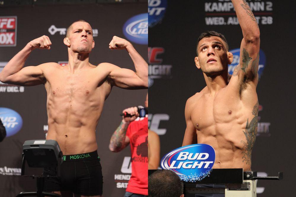 Diaz vs Dos Anjos