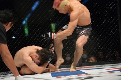 【DEEP DREAM】1Rはヒヤリ、2Rに豪快KO勝ちの廣田。高谷戦実現をアピール