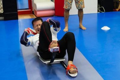 【写真】サーキットが終盤に入っても、効果的なトレーニングが可能になる(C)MMAPLANET