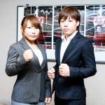 【DEEP DREAM】V.V meiと対戦する浜崎朱加「できればKO勝ちしてみたい……と思いつつ」