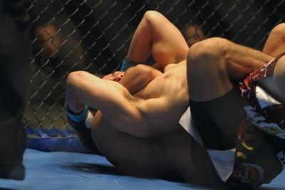 【写真】ジョン・ドゥジェを65秒、RNCで破った(C)MMAPLANET