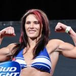【UFC184】ド迫力&ド根性=キャット・ジンガーノがロンダ・ラウジーのベルトに挑む