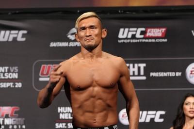 【写真】UFCデビュー以来の4連勝となれば岡見勇信、そして堀口恭司に並ぶこととなるストラッサー起一(C)MMAPANET
