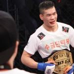 【TOP FC05】ハレルヤ!! チェ・ヨングアォンがチョ・ソンウォンに打ち勝ち、初代フェザー級王者に