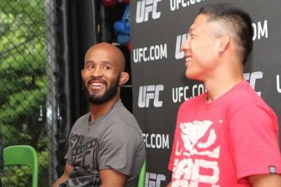 【UFC】デメトリウス・ジョンソン<02> 「自分が成長することが一番の興味の対象」