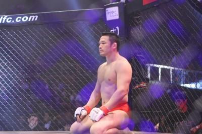 【写真】韓国でも独特な世界観が受けていたミノワマン(C)MMAPLANET