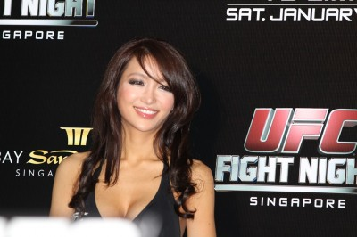【Monday Ring Girl】UFC Fight Night 34