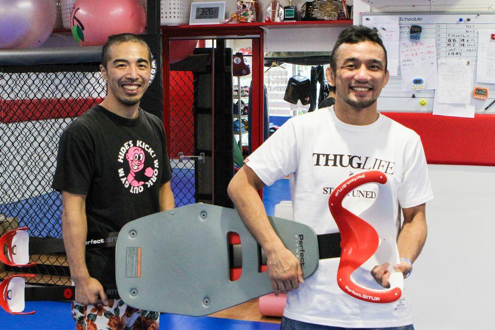 Hide Miyoshi & Shuichiro Katsumura
