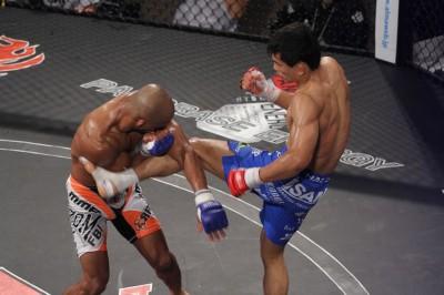 【Pancrase268】上田将勝、削って殴って、蹴って。25カ月振りの勝ち名乗り