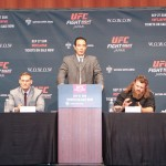 【UFN75】UFC JAPAN 2015会見でバーネット&ネルソンが、吉本お笑い軍団に圧勝