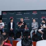 【UFN75】UFC Finght Night Japanカウントダウン・イベントに堀口、川尻、宇野&マイコラス妻登場