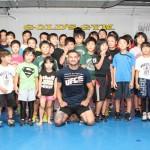 【UFN75】カブ・スワンソンがAACCのキッズレスリングで指導。澤田龍人&浜崎朱加とも交流