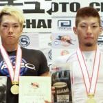 【All Japan Amateur Shooto】ミドル級は反則勝ちで田口、バンタム級の岡本はヒザ十字で優勝勝ち取る