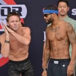 【Bellator143】計量終了。デイビス「勝つ準備できてる」、ウォーレン「俺は拳でモノを言う」