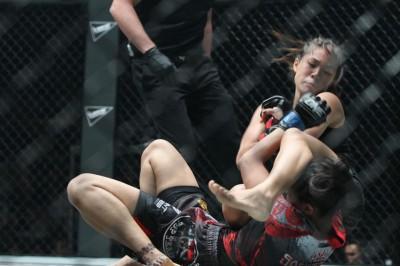 【写真】ホームタウンフェイバリットのアンジェラ・リー(C)MMAPLANET
