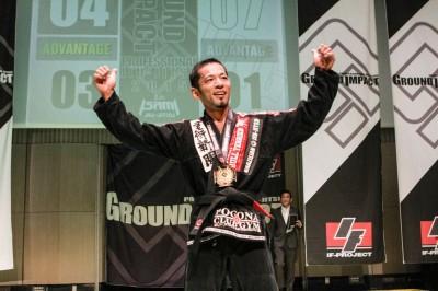【GI 2015】第一戦を去る金古一朗 「僕が勝ててしまうような柔術界であってほしくない」
