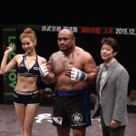 【RFC27】初の中国大会で37秒KO勝ち=マイティ・モー×35秒KO勝ち=ミョン・ヒョンマン