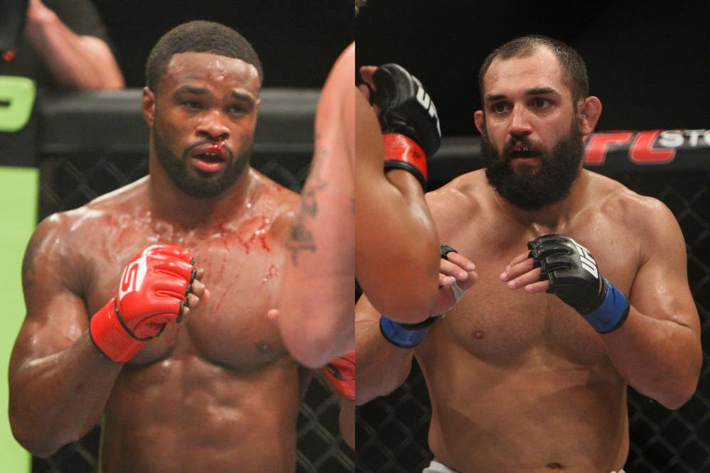 Woodley vs Hendricks