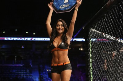 【Monday Ring Girl】UFC164「Henderson vs Pettis」
