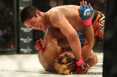 【Bellator144】ISAOに一本勝ち、ゴイチ・ヤマウチ<02>「黒帯柔術家と優秀な黒帯柔術家は全く別」