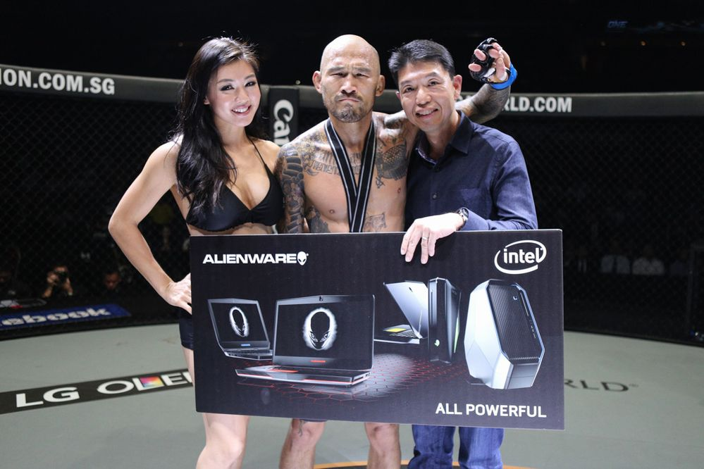Kotetsu Boku scores another win in the ONE Championship cage.