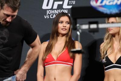 【Monday Ring Girl】UFC178