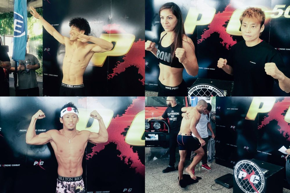 PXC50 weigh-in