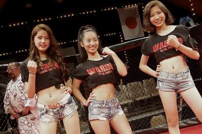 【Monday Ring Girl】WARDOG CAGE FIGHT 05