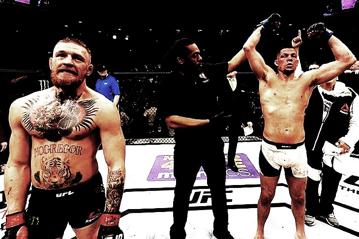 Diaz defeted McGregor 01