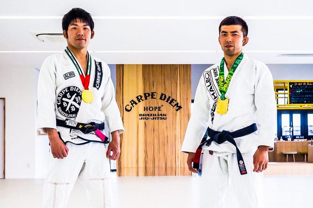 Akira Hosokawa & Daisuke Amazon Sugie