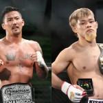 【Grachan23】フェザー級王者・大澤×バンタム級王者・手塚、階級を越えたチャンピオン対決が実現