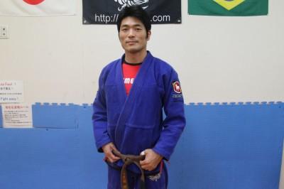 【写真】柳澤代表は柔術歴13年、パラエストラ新潟で柔術を始め、神奈川に移ってからX-TREME柔術アカデミーの所属となった(C)TSUBASYA ITO