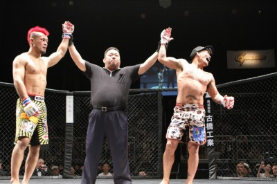 【Grachan23】大澤茂樹×手塚基伸はドロー、新ライト級王者は阪本洋平──宇良を秒殺TKO