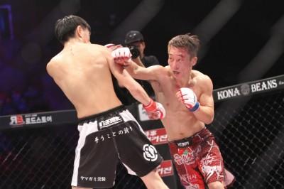 【写真】2014年12月には山上幹臣に判定勝ちを収めている(C)MMAPLANET