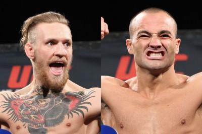 【UFC205】MSGで会見。アルバレス×マクレガー、ウッドリー×トンプソン、ヨアナ×コバケビッチ戦決定