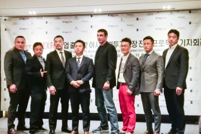 【Apex FC】韓国で桜庭和志とピーター・アーツが合体!! 多目的格闘技イベントApex FC旗揚げ