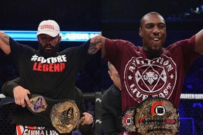 【Bellator163】Bellator vs UFC in Bellator 変則寝技のマクゲリー×フィル・デイビス