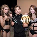 【Gladiator002】新ライトフライ級チャンピオン吉村友菊「喜んでもらうことが信条」