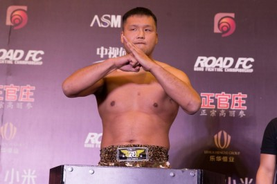 【RFC34】巨漢アオルコロ戦に向けて、川口雄介「これまでやってきたことを出し尽くしたい」