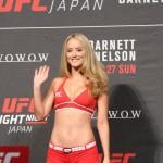【Monday Ring Girl】UFN JAPAN 「Barnett vs Nelson」