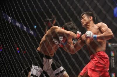 5月のユン・ドンシク戦は2R2分38秒でTKO勝ちするまで、その打撃の進歩をしっかりと見せ続けた(C)MMAPLANET