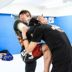 【Pancrase283】公開練習 春日井健士と対戦するホジェリオ・ボントリン「打撃で攻めたい」