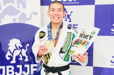 【JBJJF】東京国際 ライトフェザー級優勝・嶋田裕太「ムンジアルは1回戦突破できるか? ADCCも視野に」