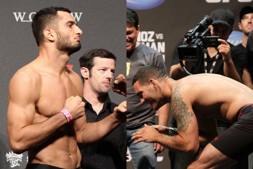 Mousasi vs Weidman