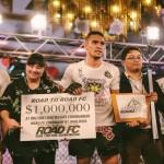 【URCC】ROAD FCライト級$100万トーナメント、最初の本戦出場はフィリピンのレイドン・ロメロに