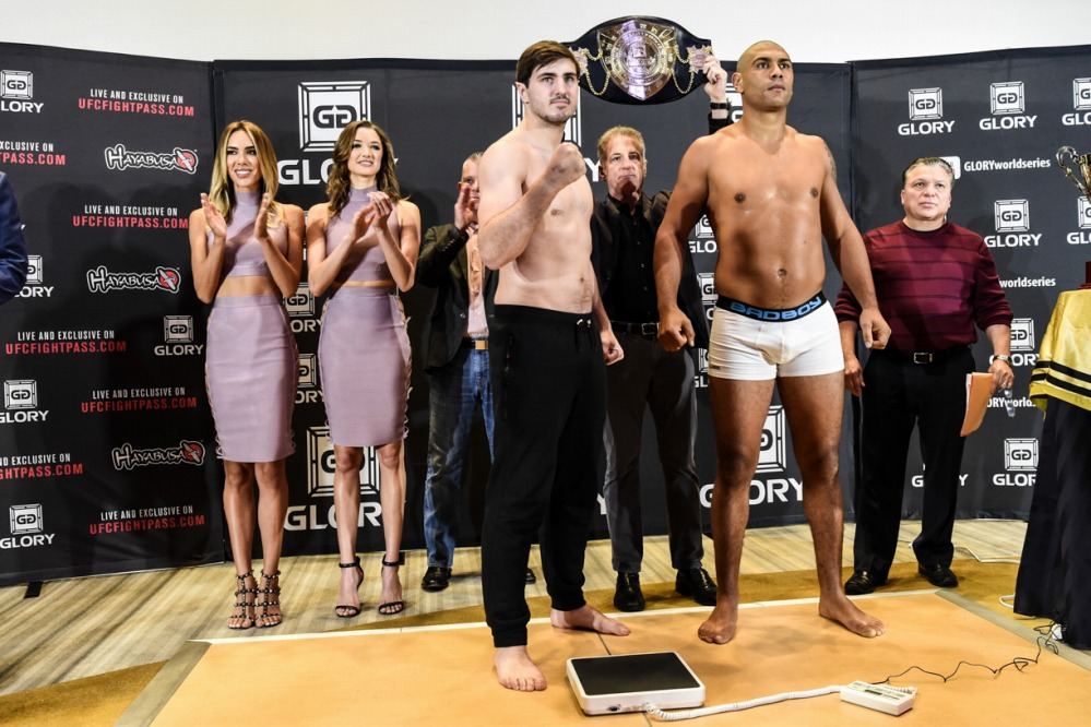 Glory38 Weigh-in