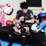 【GRACHAN28×BRAVE FIGHT14】上原佑介と対戦する松場貴志<01> ALIVEプロ練メンバーがイラッ……